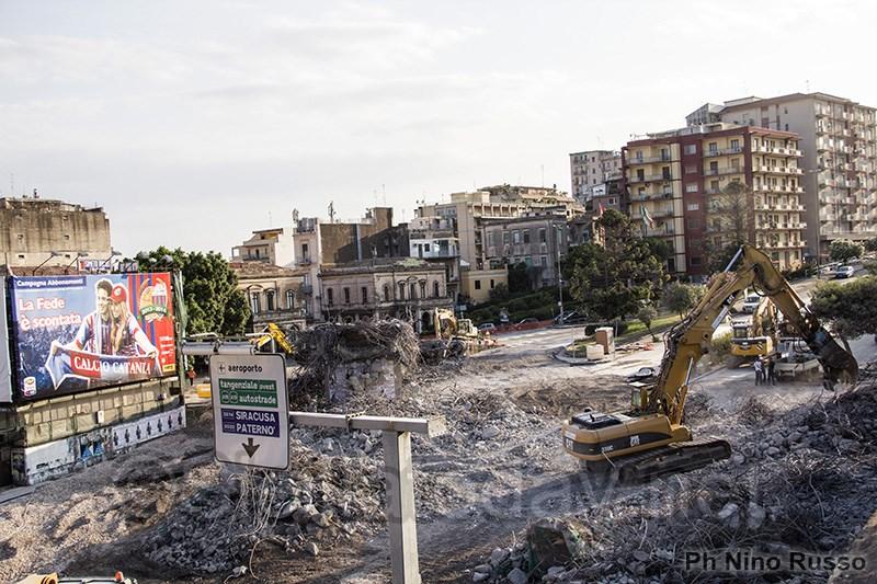 Catania, nuovi lavori al Tondo Gioeni$